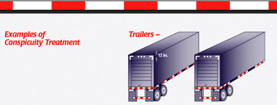 how to make reflective tape on trailers stick